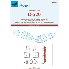 Dewoitine D-520 - pro modely RS models