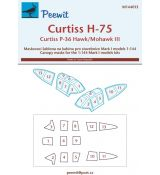 Curtiss P-36/H-75 Hawk/Mohawk III - pro modely Mark I models